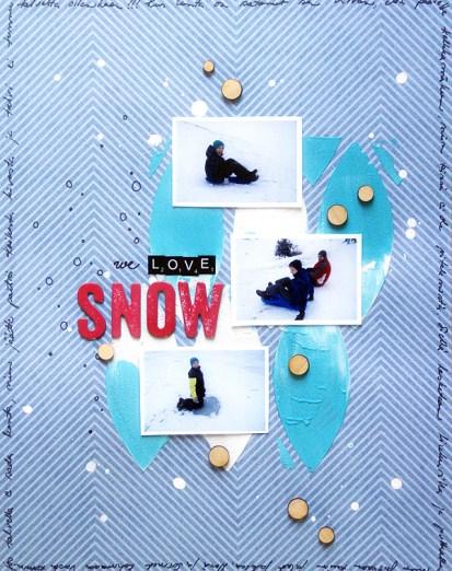 Sanna Lippert - we love snow