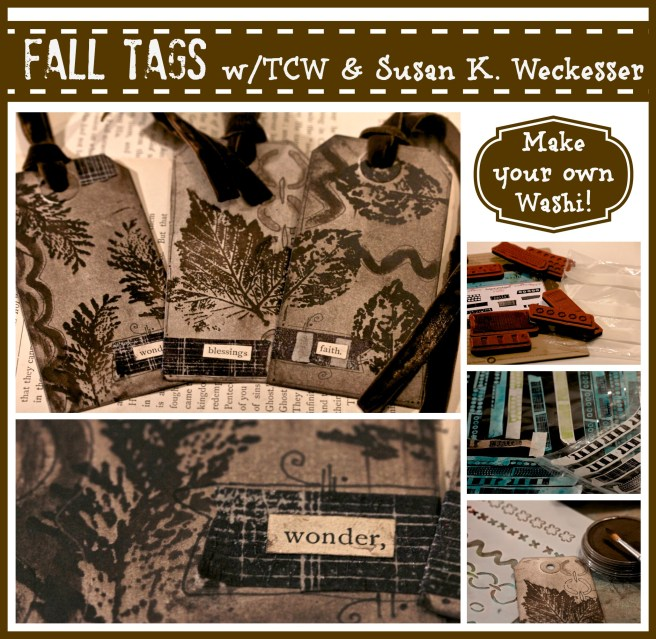 Fall tags/Sue Carroll