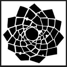 trapazoid flower TCW194