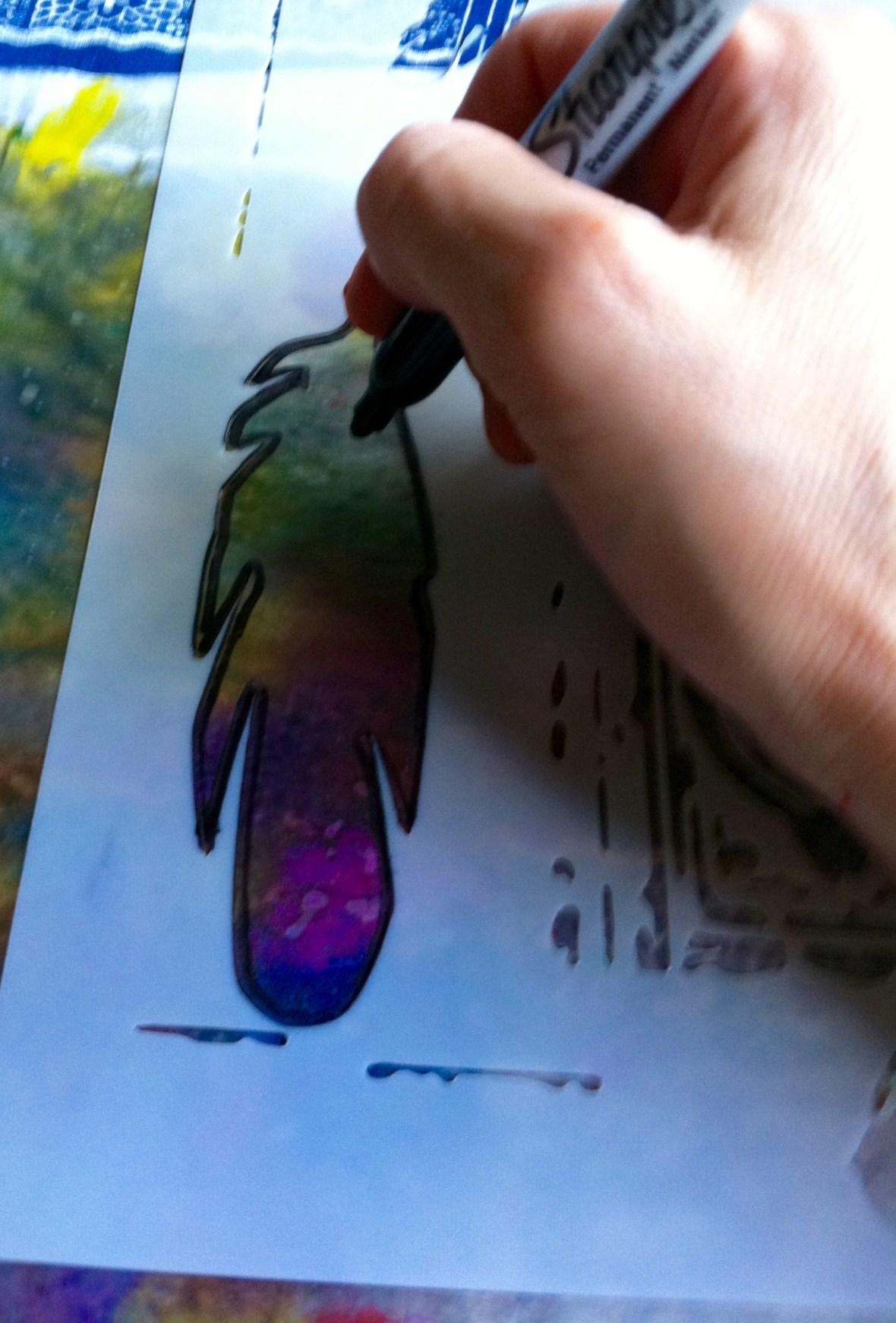 Tracing stencil 2