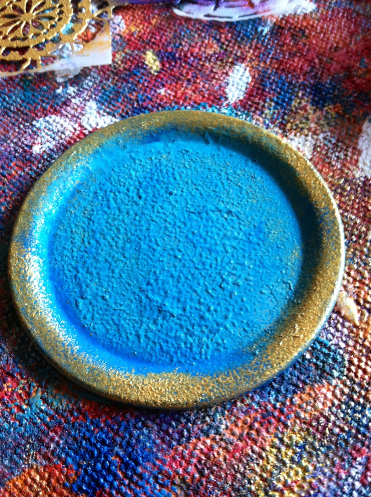 Painted lid