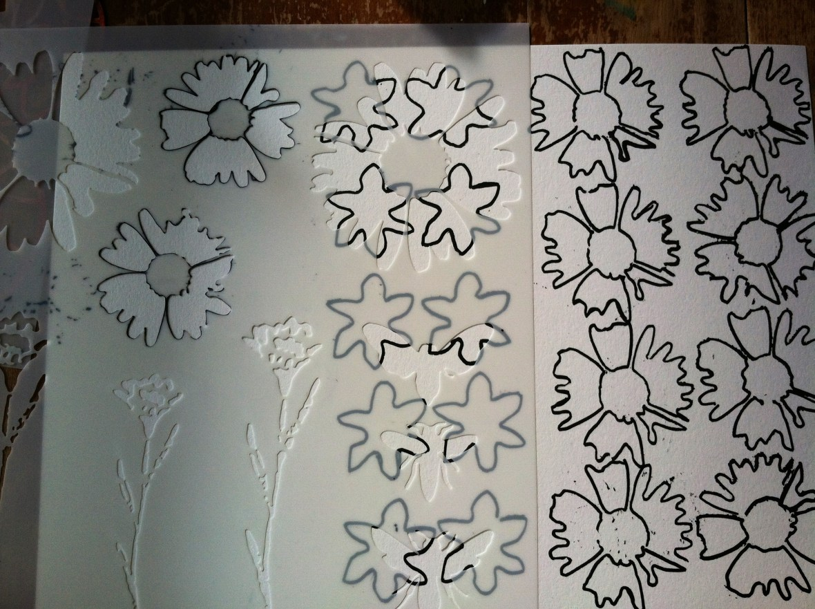 Step 2 stencil trace w:pen