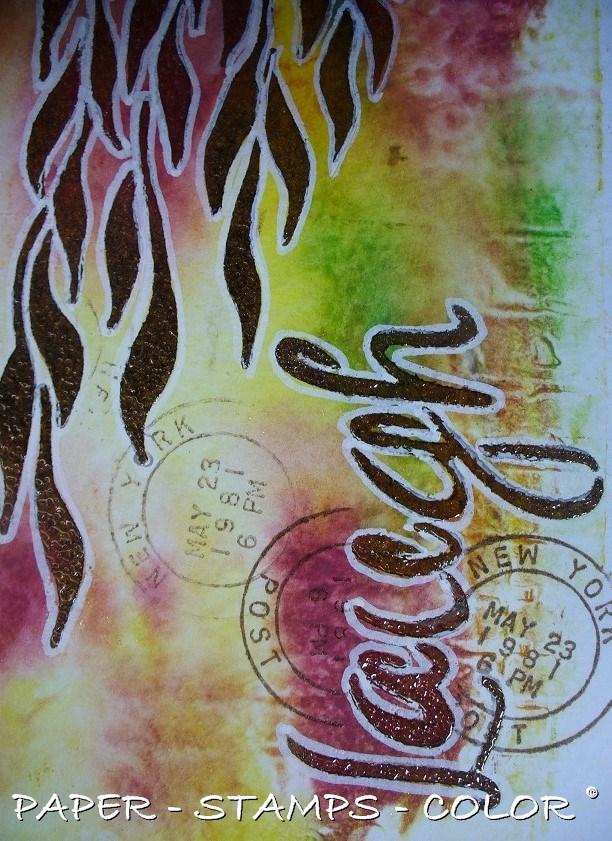 TCW roodgroen monoprint laugh (10)