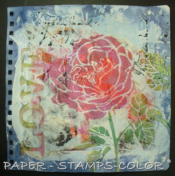 TCW tutorial artjournal roses love (5)