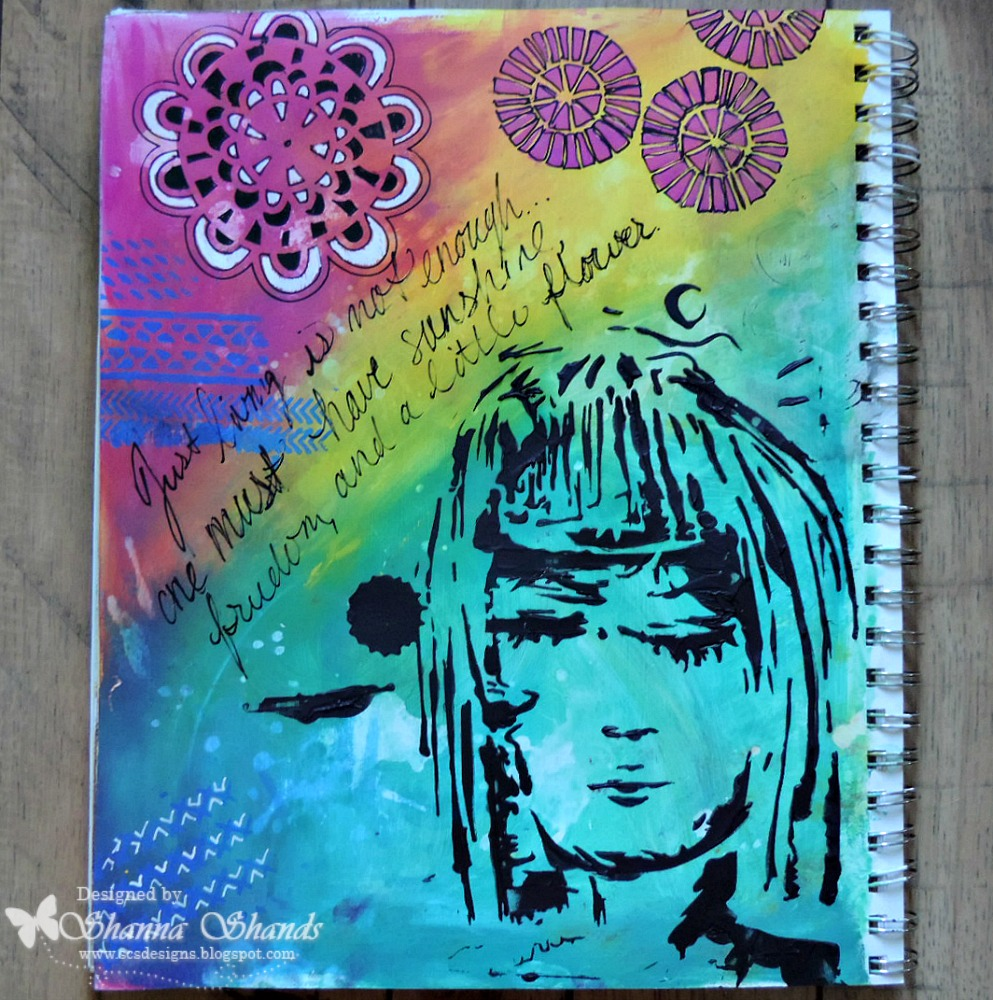 TCWDreamGirlArtJournal