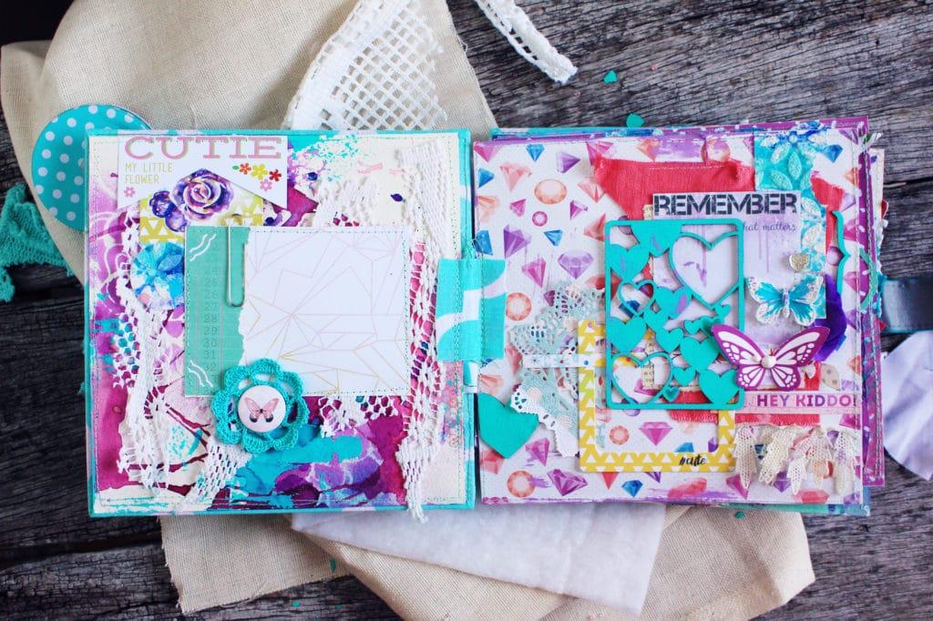 girlish scrap album