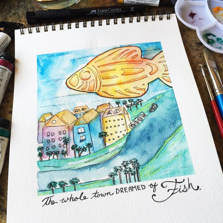 The Whole Town Dreamed of Fish by Tori Weyers