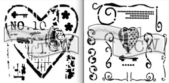 TCW641 and TCW642 stencils