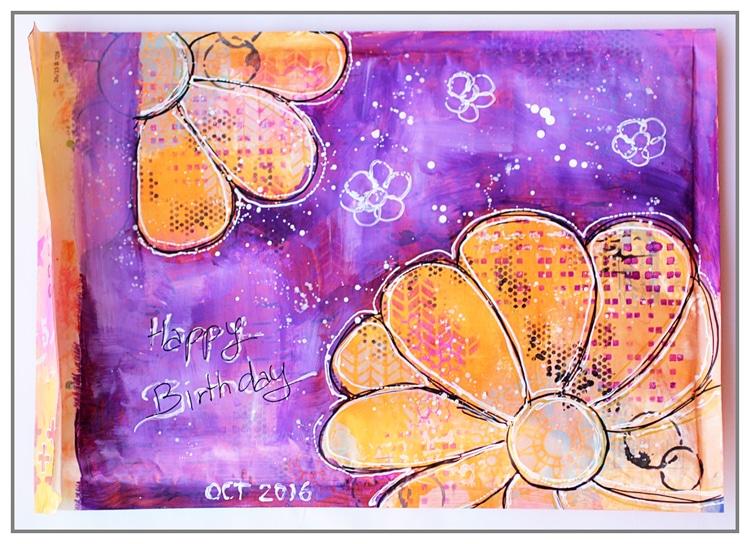 Yasmina Mail Art oct 2016
