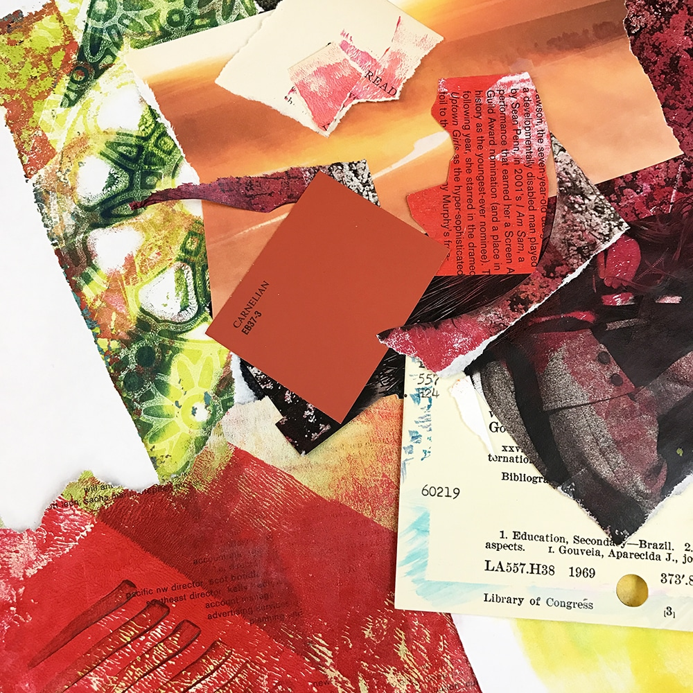 Colors for Glue book spread #2