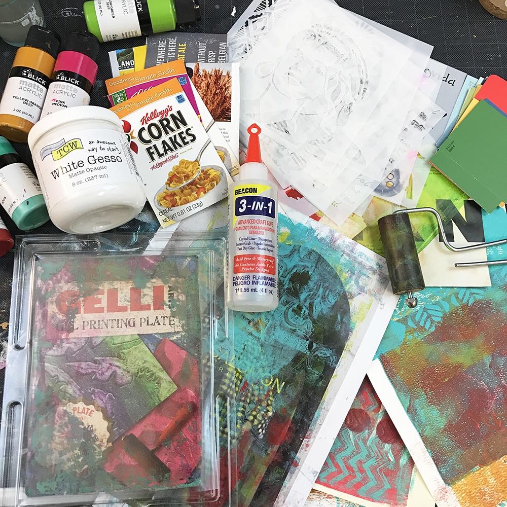 Glue Book Supplies