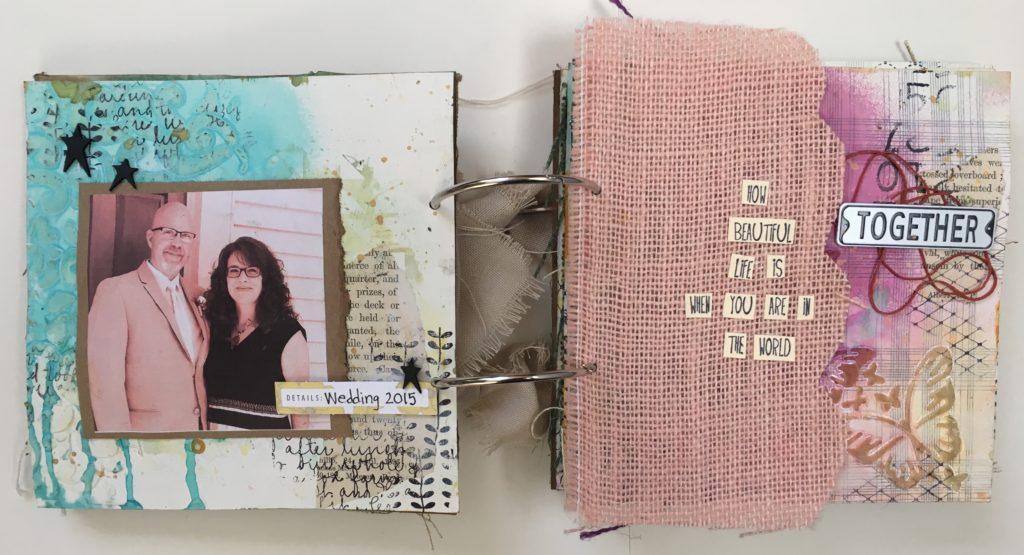 Kim Schofield, TCW, Canvas Corp, Mini Album, Page 2