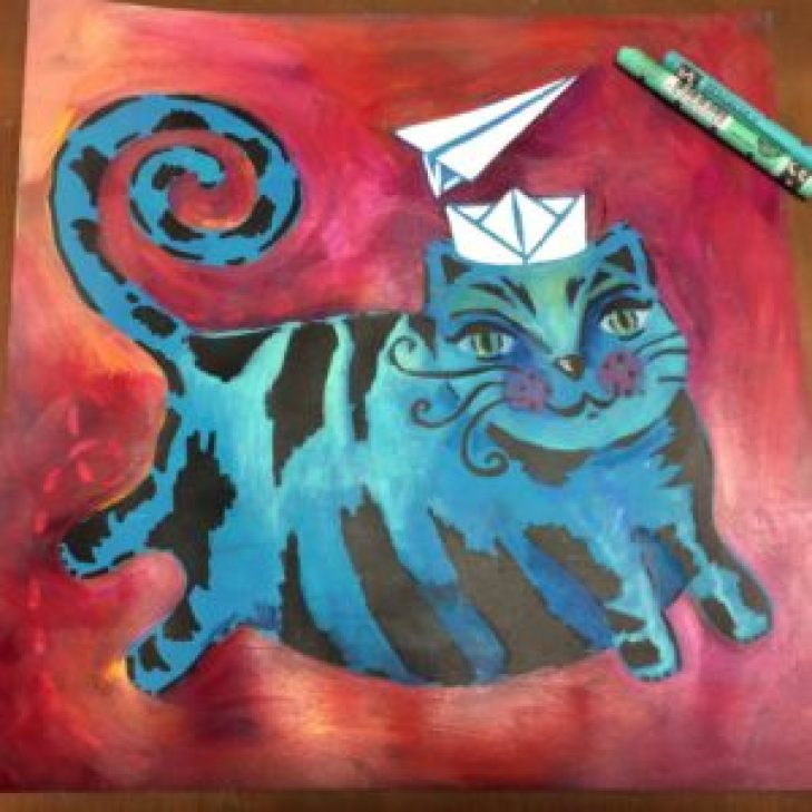 THE Crafter's Workshop : Flying Cat - by ART BY MARLENE photo 6
