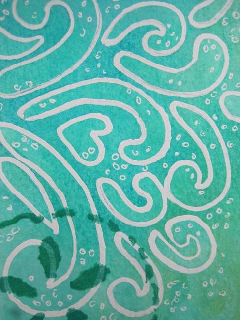 Correction pen around TCW679 stencil LEFKO