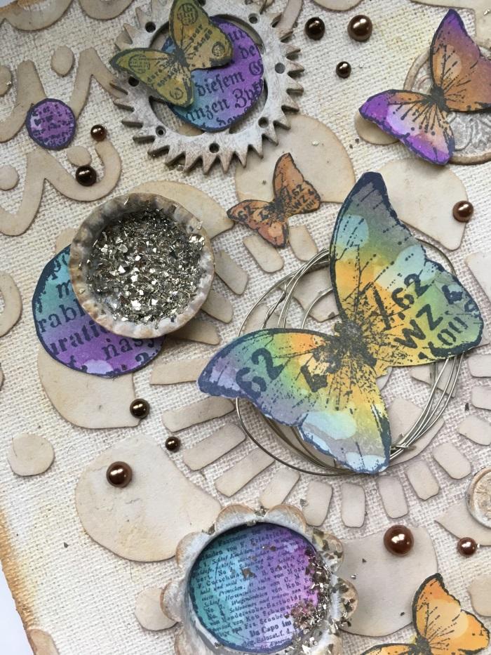 Positivity, TCW687. Kim Schofield, Butterfly