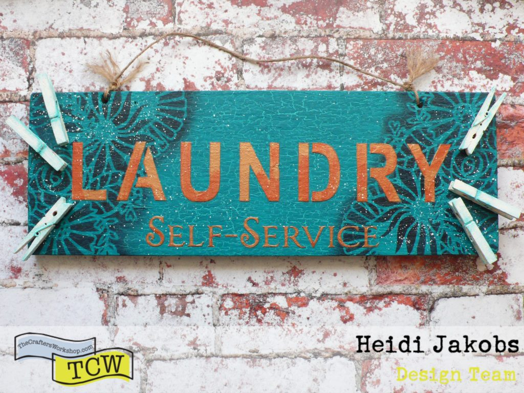 How to create a laundry sign for your home