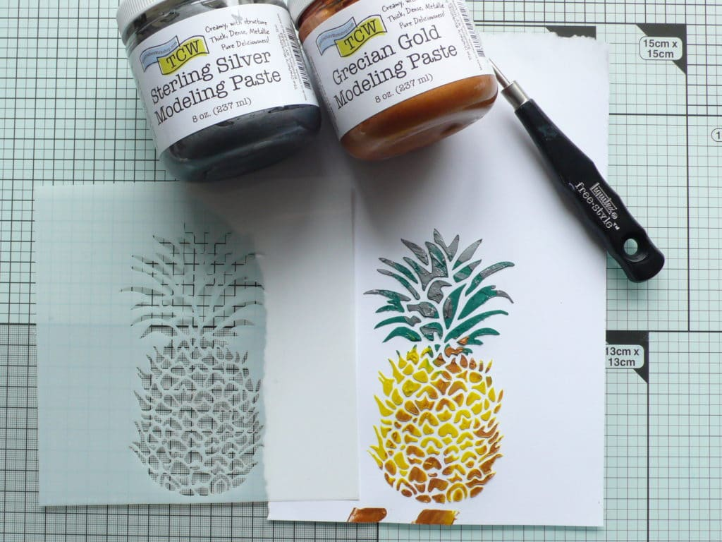 Step by step tutorial for creating your own coloured modeling paste