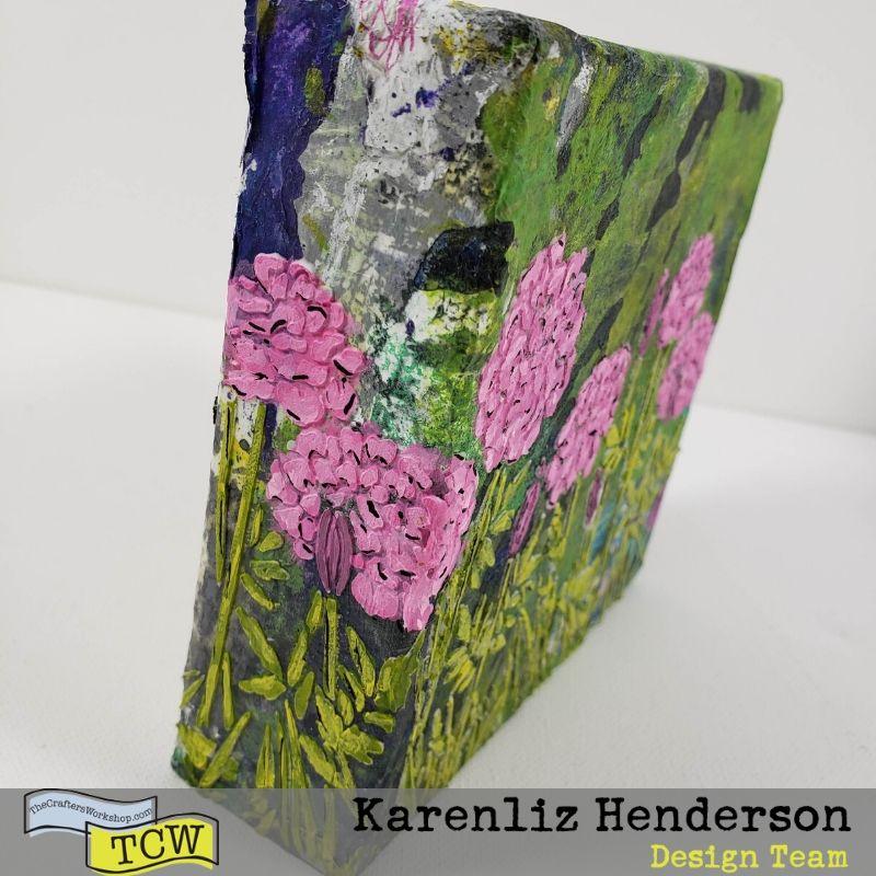 Happy Dandelions on the each side.
