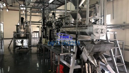 dây chuyễn sản xuất thuốc nổ