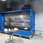 Supplying spray Booth 3, 3m in Hanoi