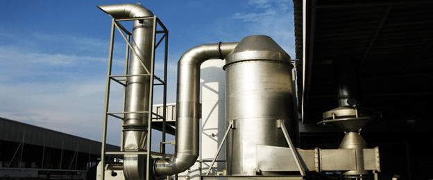 Nguyên tắc hoạt động của thiết bị xử lý khí thải