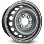 TREBL 616037 5.5×16/6×130 ET51 D84 Silver