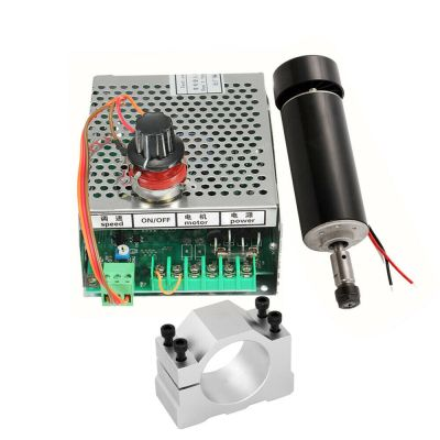 Image From eBay of 500W Spindle & Controller