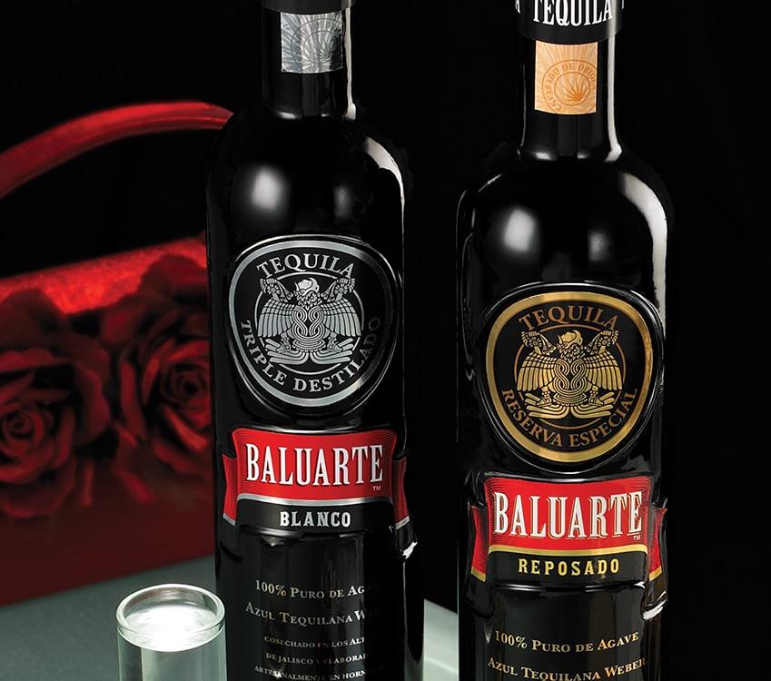 Close Up Tequila Baluarte