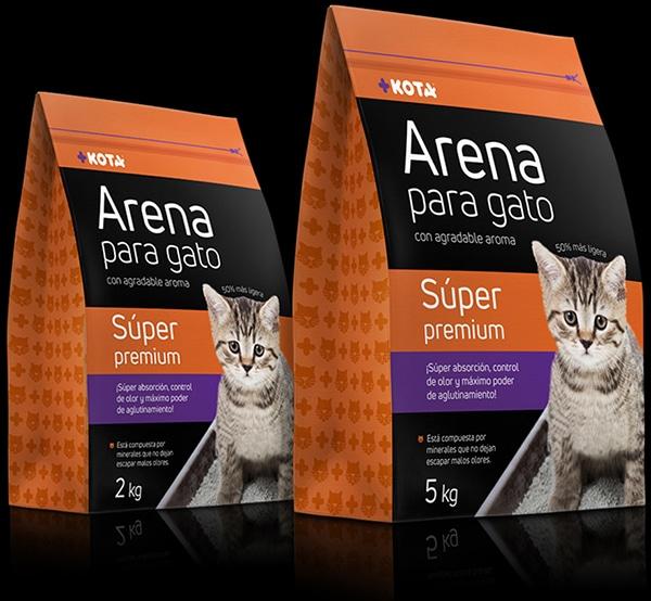 Diseño de Empaque Arena +KOTA TD2 Branding