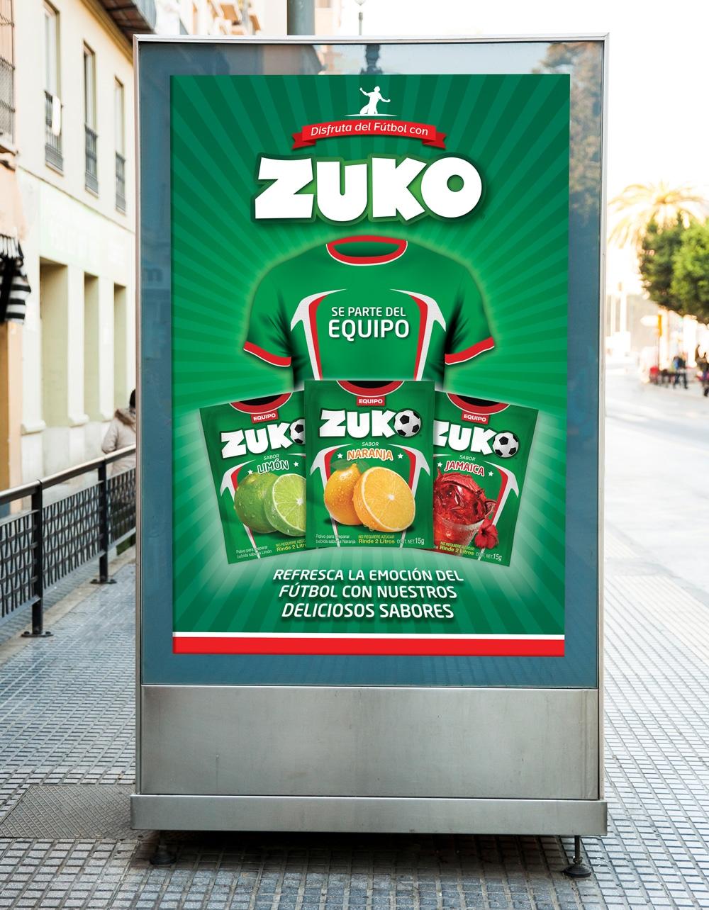 Zuko Mundial Ad TD2 Branding