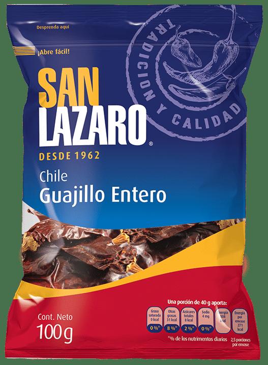 Diseño de Empaque San Lazaro Chile Guajillo
