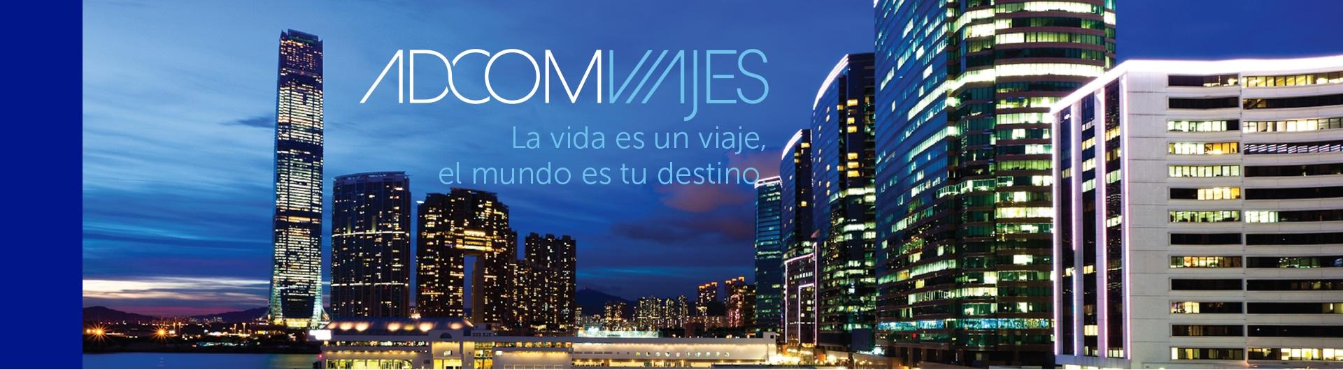 Adcom Viajes Diseño Corporativo