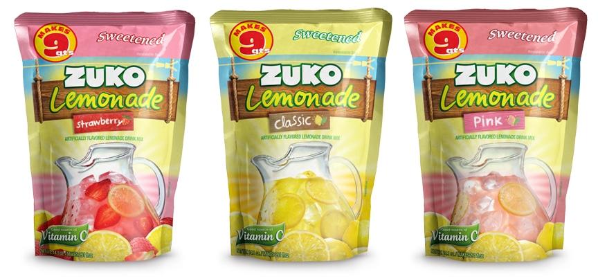 Zuko Lemonades Doy Pack TD2 Branding