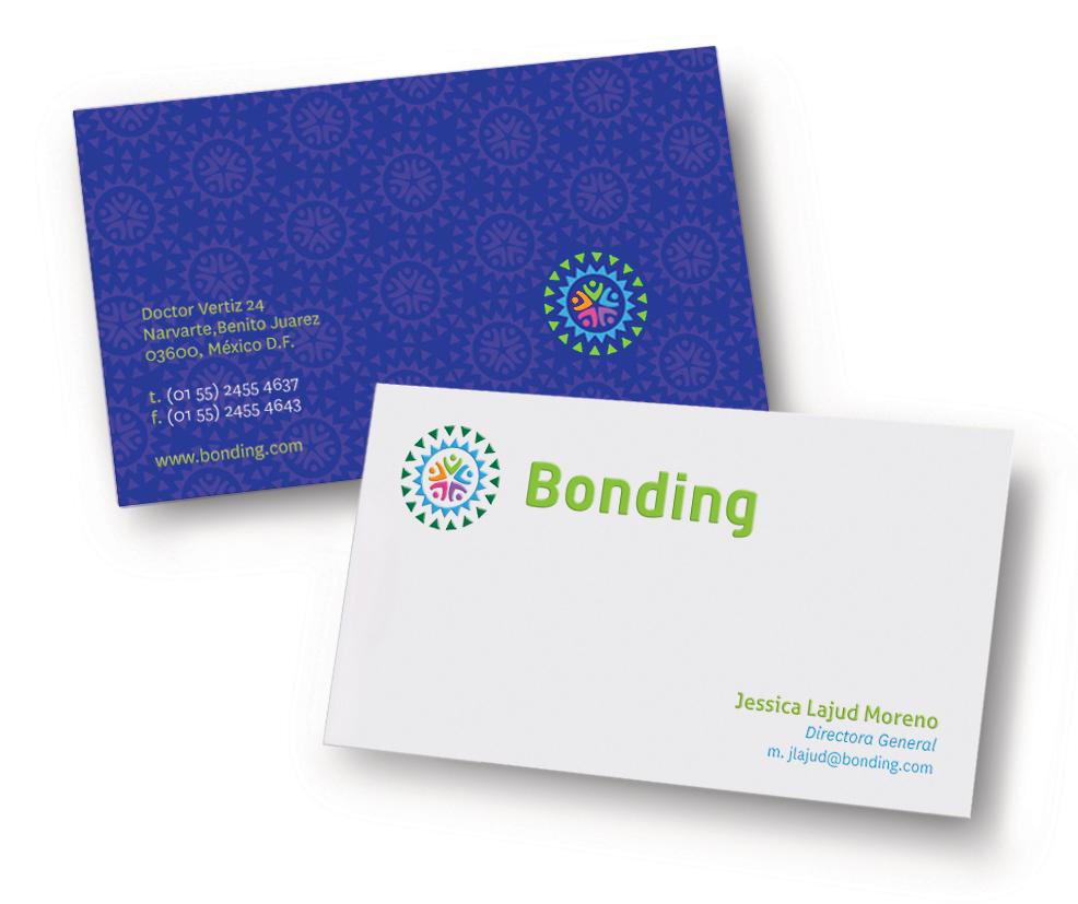 Tarjetas Diseño Bonding