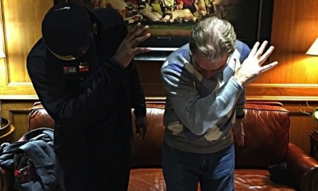 Nick Saban dabbing