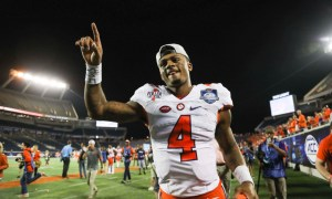 Alabama football-Clemson football-Deshaun Watson-Heisman Trophy-Heisman Trophy finalists