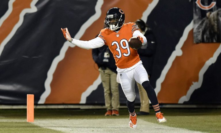 Eddie Jackson returning to his Alabama football roots in his fifth season with Chicago Bears