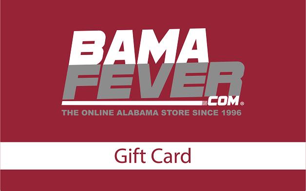 Bama Fever gift card
