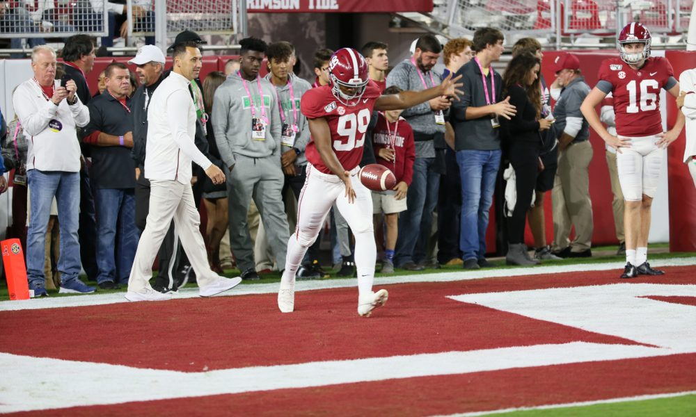Alabama has its first black punter and Ty Perine is exceeding expectations