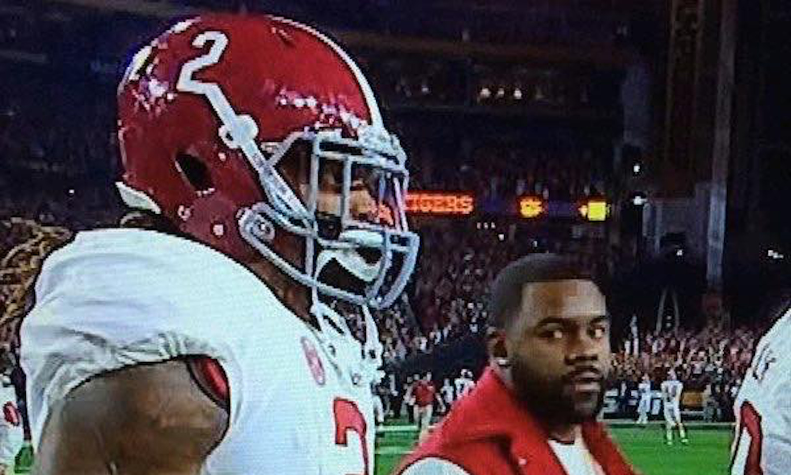 Mark Ingram wants smoke with person who took viral photo of he and Derrick Henry at 2016 CFP title game