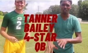 Tanner Bailey standing alonsgide Justin Smit