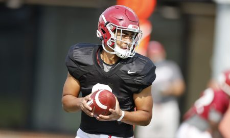 Bryce young prepares for A-Day during spring practice
