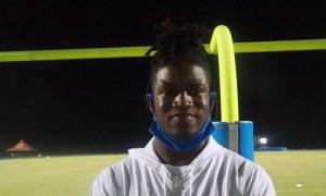 Xavian Sorey talks Alabama and other top schools after game