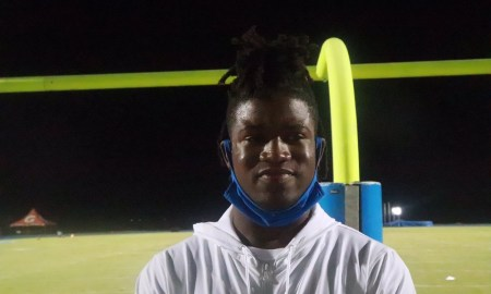 Xavian Sorey talks Alabama and other top schools after game