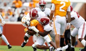 Christian Harris and Byron Young wrap up Tennessee running back