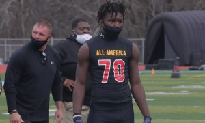 Kavion Henderson at Under Armour Camp