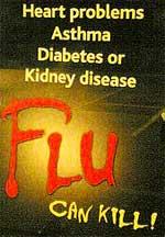 Asma y gripe