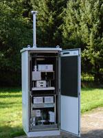 Estación automática para medir el polen