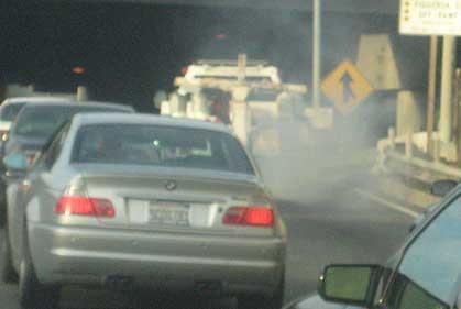 trafico contaminacion