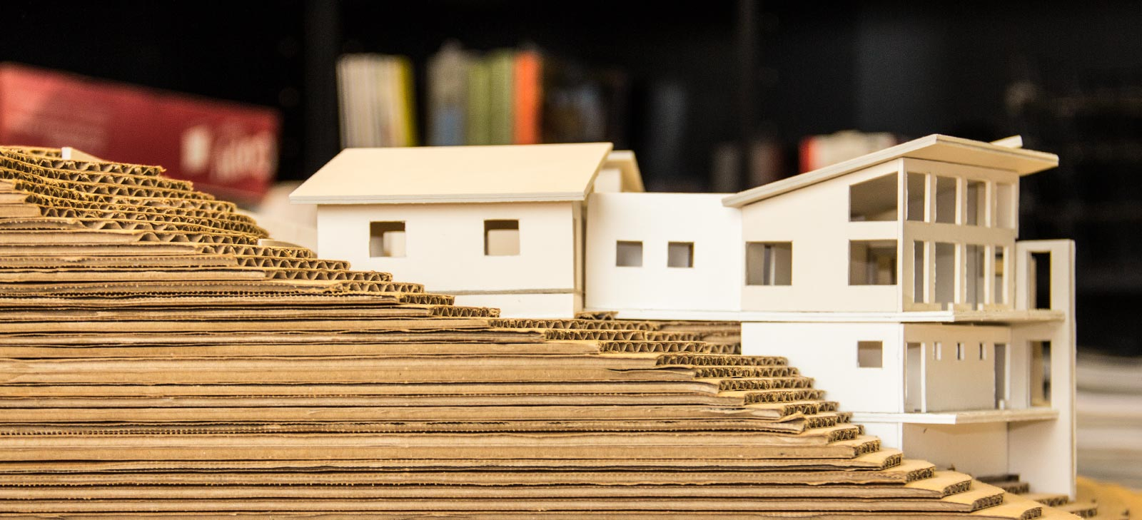 bend architectural model